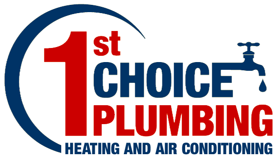 1st Choice Plumbing Heating and Air Conditioning Logo